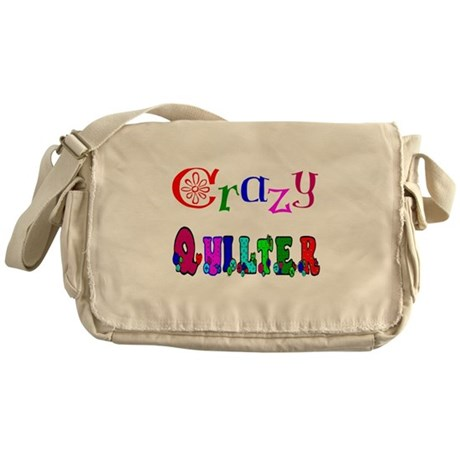 Crazy Quilter Messenger Bag