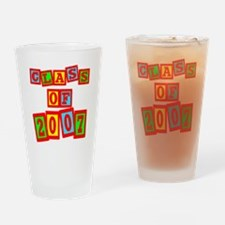 Class of 2007 Drinking Glass