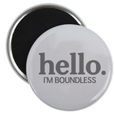 "Hello I'm boundless 2.25"" Magnet (10 pack)"