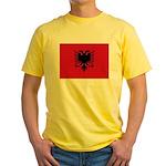 Albania Yellow T-Shirt