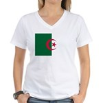 Algeria Women's V-Neck T-Shirt
