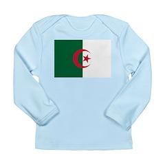 Algeria Long Sleeve Infant T-Shirt