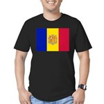 Andorra Men's Fitted T-Shirt (dark)
