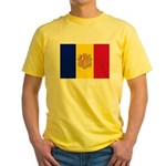 Andorra Yellow T-Shirt