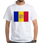 Andorra White T-Shirt