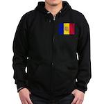 Andorra Zip Hoodie (dark)