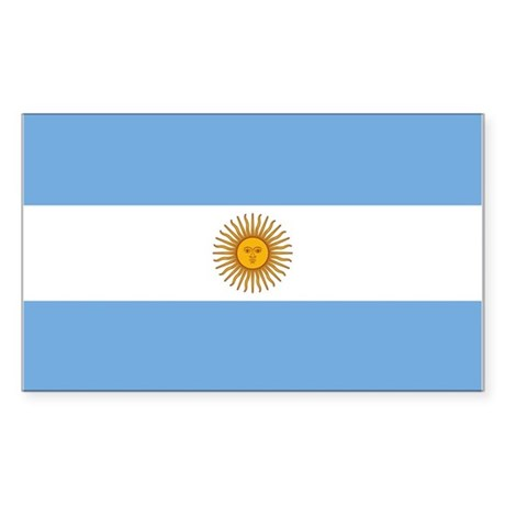 Argentina Sticker (Rectangle)