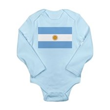 Argentina Long Sleeve Infant Bodysuit
