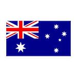 Australia 38.5 x 24.5 Wall Peel
