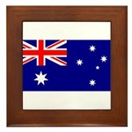 Australia Framed Tile