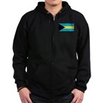 The Bahamas Zip Hoodie (dark)