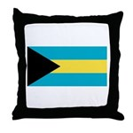 The Bahamas Throw Pillow