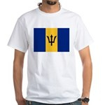 Barbados White T-Shirt
