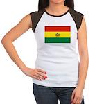 Bolivia Women's Cap Sleeve T-Shirt