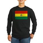 Bolivia Long Sleeve Dark T-Shirt