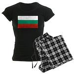 Bulgaria Women's Dark Pajamas