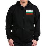 Bulgaria Zip Hoodie (dark)