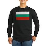 Bulgaria Long Sleeve Dark T-Shirt