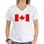Canada Women's V-Neck T-Shirt