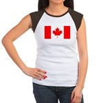 Canada Women's Cap Sleeve T-Shirt