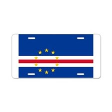 Cape Verde Aluminum License Plate
