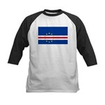 Cape Verde Kids Baseball Jersey