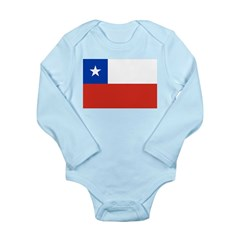 Chile Long Sleeve Infant Bodysuit