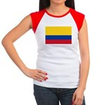 Colombia Women's Cap Sleeve T-Shirt