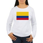 Colombia Women's Long Sleeve T-Shirt