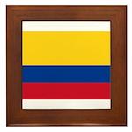 Colombia Framed Tile