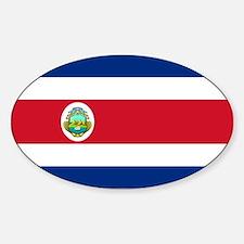 Costa Rica Sticker (Oval)
