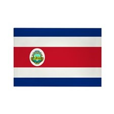 Costa Rica Rectangle Magnet (100 pack)