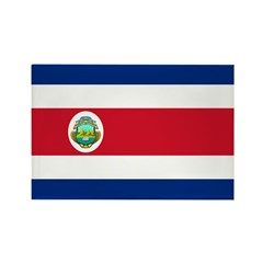 Costa Rica Rectangle Magnet (10 pack)