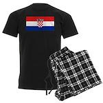 Croatia Men's Dark Pajamas