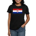 Croatia Women's Dark T-Shirt