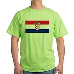 Croatia Green T-Shirt