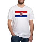 Croatia Fitted T-Shirt