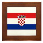 Croatia Framed Tile