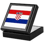 Croatia Keepsake Box