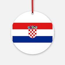Croatia Ornament (Round)