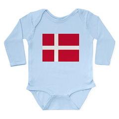 Denmark Long Sleeve Infant Bodysuit