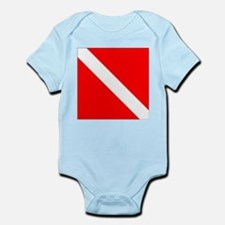 Diver Down Infant Bodysuit