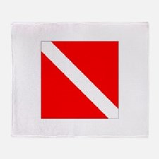Diver Down Throw Blanket