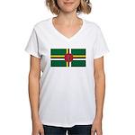 Dominica Women's V-Neck T-Shirt