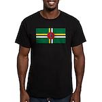 Dominica Men's Fitted T-Shirt (dark)