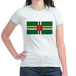 Dominica Jr. Ringer T-Shirt