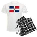 Dominican Republic Men's Light Pajamas