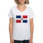 Dominican Republic Women's V-Neck T-Shirt
