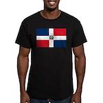 Dominican Republic Men's Fitted T-Shirt (dark)