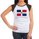 Dominican Republic Women's Cap Sleeve T-Shirt